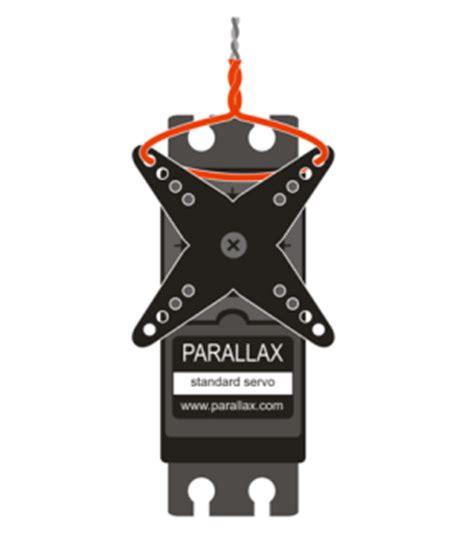 Servo Parallax Standard standard servo learn parallax