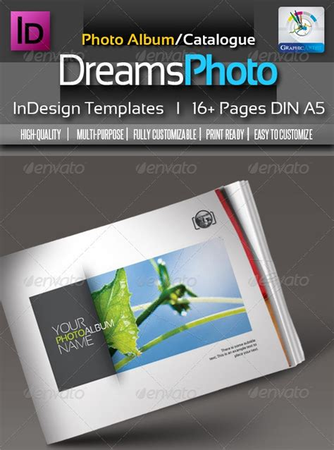 indesign photo album template 55 best photo album templates 56pixels