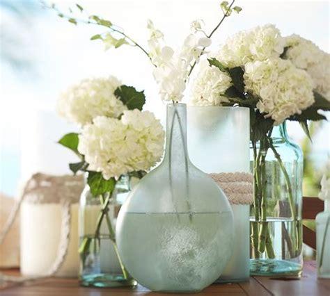 Diy sea glass vases sand and sisal