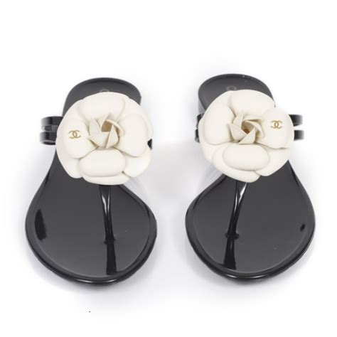 Chanel Clucth Jelly chanel jelly camellia sandals 38 21240