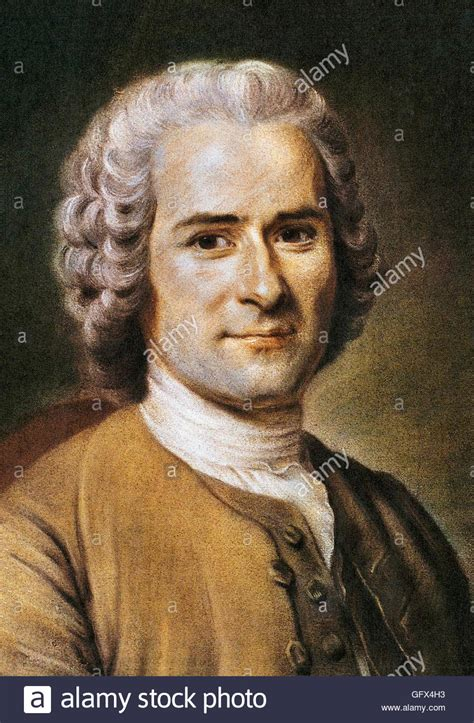 Jean Jacques by Jean Jacques Rousseau Portrait Of The Geneva Born