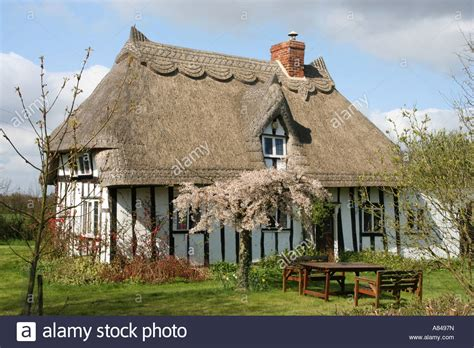 Cottage Essex by Timber Framed Thatched Roof Country Cottage Near Broxted