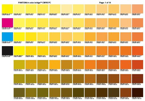 Digitaldruck Rgb by Cmyk Color Chart Use A Color Bridge Chart Use A Color