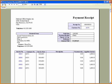 pay receipt template 7 receipt for payment cashier resume