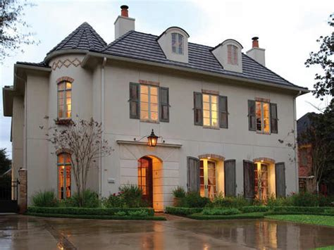 style homes plans style house exterior chateau architecture provincial style house plans