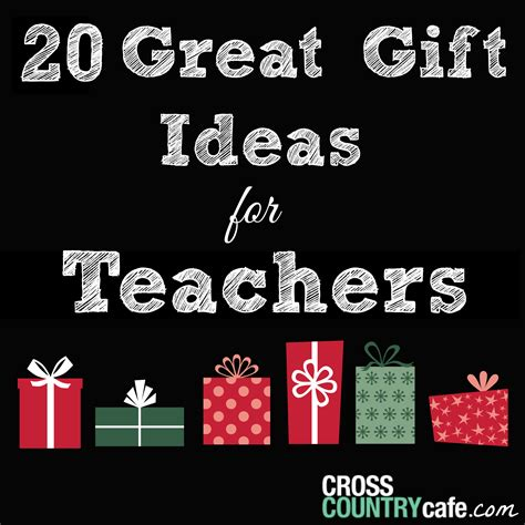 20 holiday gift ideas for teachers