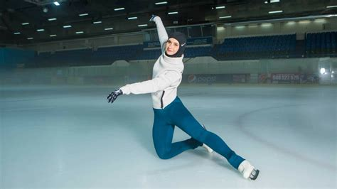 figure uae meet zahra lari the uae s figure skater