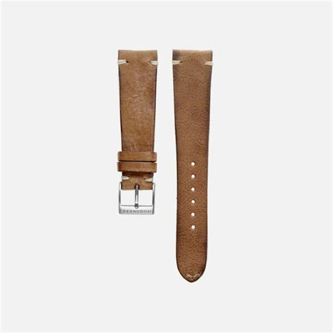 Rustic Brown Leather by Rustic Brown Leather Hodinkee Shop
