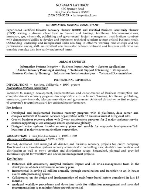Systems Consultant Sle Resume by Information Systems Management Resume 28 Images Information Systems Manager Sle Resume Sle