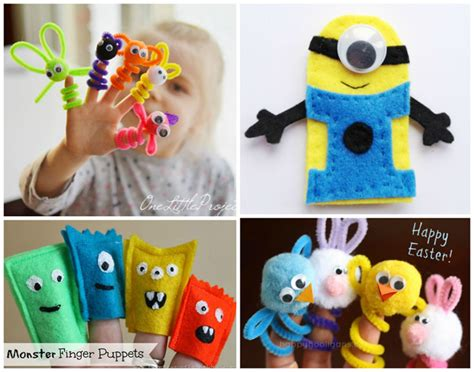 How To Make Finger Puppets Out Of Paper - 26 kid s puppets you can make crafts by amanda