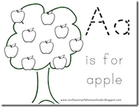 alphabet coloring pages for 2 year olds letter a for apple confessions of a homeschooler