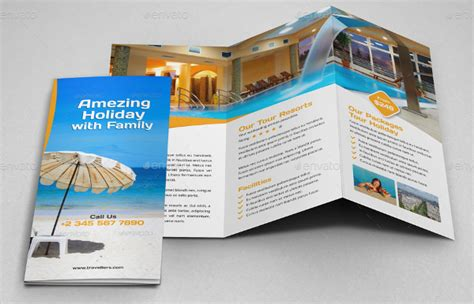 Brochure Template Resort | resort brochure templates download free premium