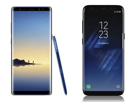 Samsung Galaxy Note S8 samsung galaxy note 8 et galaxy s8 plus vous ne devriez