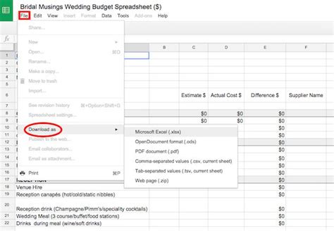 Best 25 Wedding Budget Spreadsheet Ideas On Pinterest Wedding Timeline Planner Wedding List Newlywed Budget Template