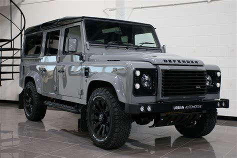 vintage land rover defender 110 the urban 110 utility special edition enhances the land