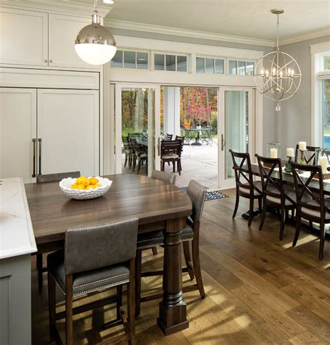 kitchen island with attached table category kitchen design home bunch interior design ideas