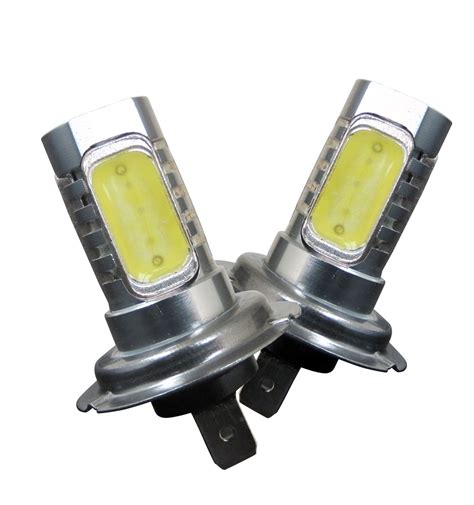 h7 le h7 led bulbs 6w 1 pair h7 6w