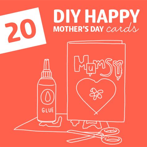 how to make a cool mothers day card 20 diy happy s day cards dodo burd
