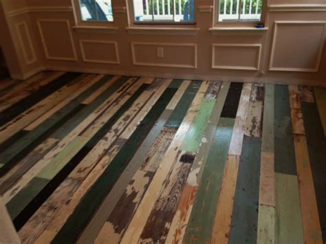 ?Mix and Match? Reclaimed Wood Flooring   Old Texas Wood