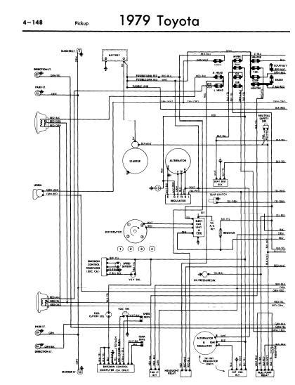 repair manuals toyota 1979 wiring diagrams