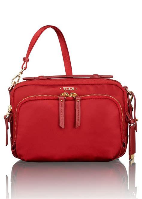 Tumi Luanda Flight Bag Maroon 4 tumi tumi luanda crossbody flight bag handbags shop
