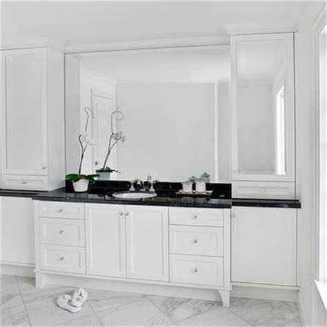 white bathroom cabinets design ideas