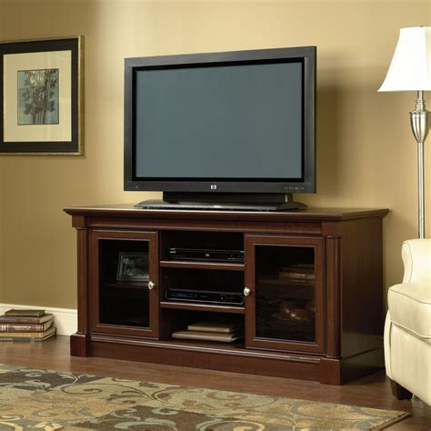 wood tv stand entertainment center flat screen home