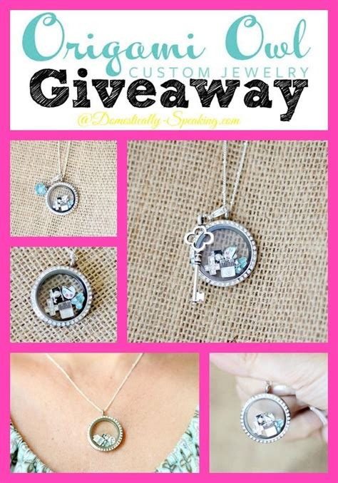 Can You Buy Origami Owl In Stores - origami owl giveaway origami owl necklace origami and