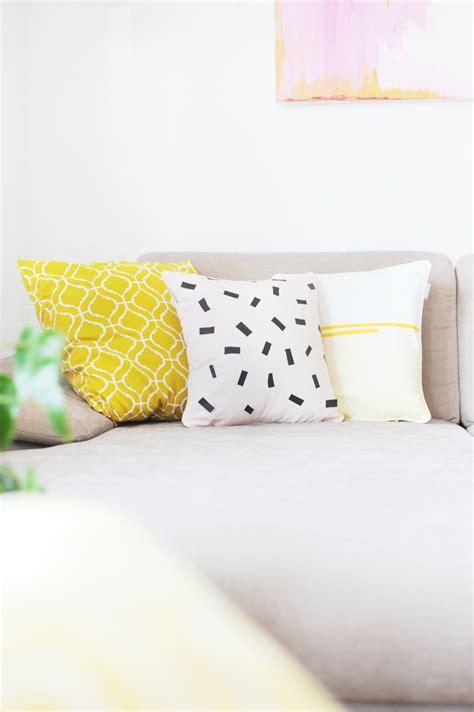Textilfarbe Selber Machen by Diy Kissen Selbermachen Faerben Textilfolie Textilfarbe