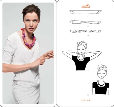 how to wear the silk scarf sheworefire