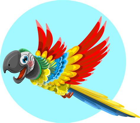 Parrot Clipart Free free to use domain parrot clip