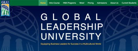 Mba Global Leadership by Business As Mission