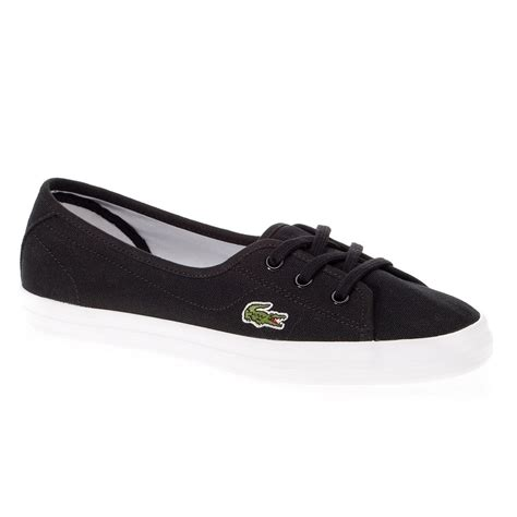 lacoste flat shoes 29spw1054 lacoste ziane chunky lcr s flats ballet