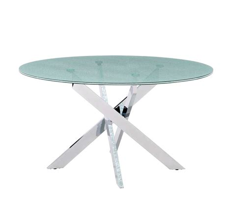 crackle glass dining table modern crackled glass table z139 modern dining