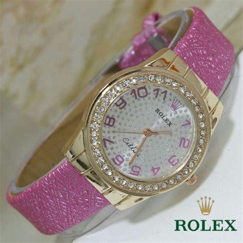 Jam Tangan Rolex Kulit jual jam tangan rolex cellini tali kulit harga murah