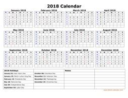 Galerry printable month planner 2018
