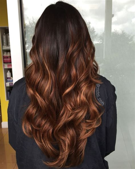 best type of hair color for brunettes balay or ombre 25 best ideas about caramel ombre hair on pinterest