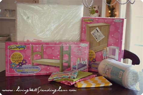 diy 18 doll bed pattern plans free
