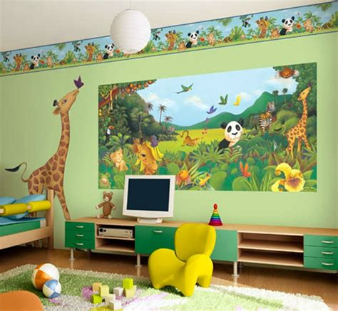 toddler bedroom wallpaper wall art d 233 cor ideas for kids room my decorative
