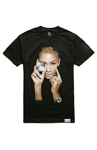 diamond supply co mill tee at pacsun com from pacsun tops diamond supply co x zendaya color collab t shirt at pacsun com