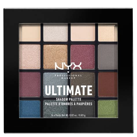 Nyx Ultimate Shadow Palette nyx professional makeup ultimate shadow palette smokey