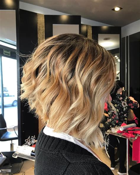 is there an angled layer lookfor short to medium hair 10 layered bob hairstyles look fab in new blonde shades