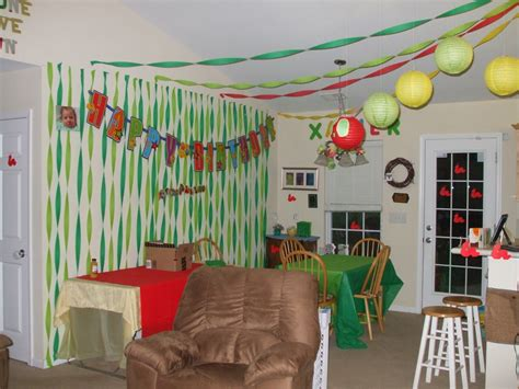 birthday decorations at home next generation stay at home mom xavier s first birthday