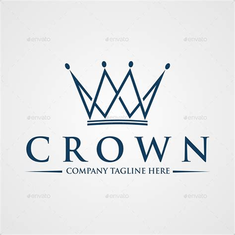 royal crown logo design premium logo templates 19 crown logos free psd eps ai indesign word pdf