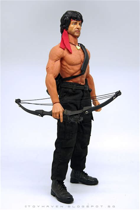 Toys Blood J Rambo toyhaven toys mms006 1 6th scale blood part ii