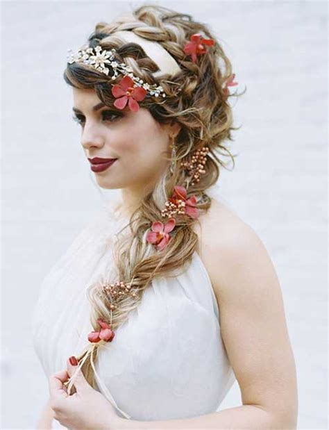 Braided Hairstyles For Hair Wedding by 25 Wedding Braided Hairstyles Hairstyles 2016