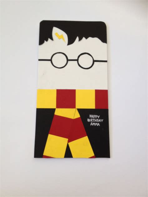 harry potter birthday card home  cards pinterest