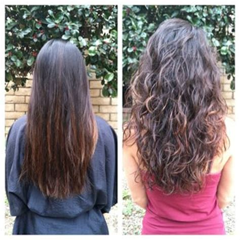 before and after photos of permant waves with frizzy hair before and after pictures body wave and body wave perm on