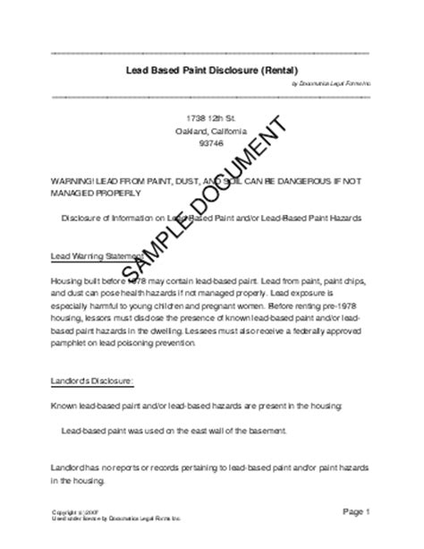 legal document template free printable documents