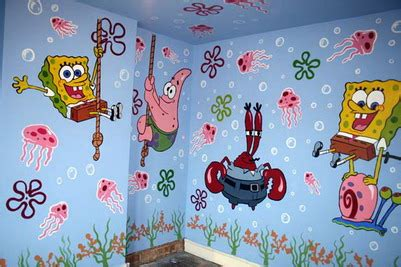 wallpaper dinding kamar spongebob toko wallpaper dinding madiun 085232712227 085607682227